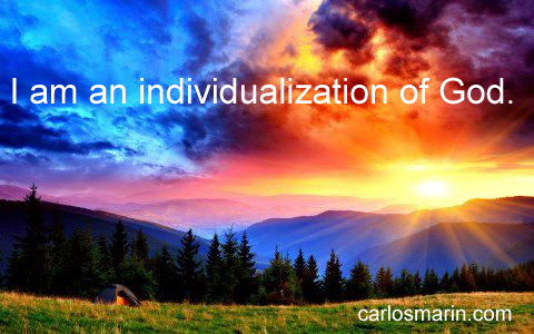 IamanindividualizationofGod