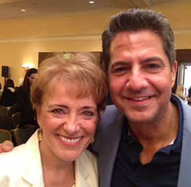 Carlos Marin with Mary Morrissey